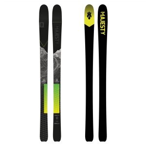 Narty SKITUROWE SUPERSCOUT CARBON - 162 cm MAJESTY