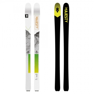 Narty SKITUROWE SUPERSCOUT - 162 cm MAJESTY